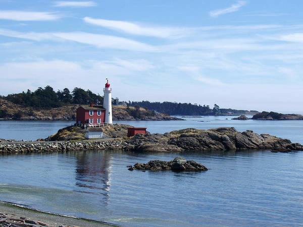 Fisgard Lighthouse Shoreline Poster