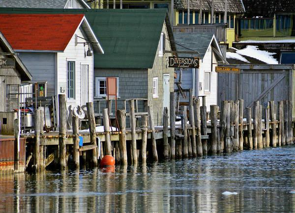 Fishtown In Leland Poster