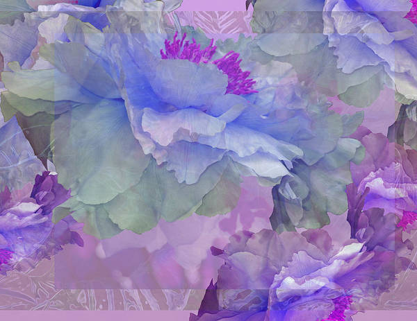 Floral Potpourri With Peonies 4 Poster