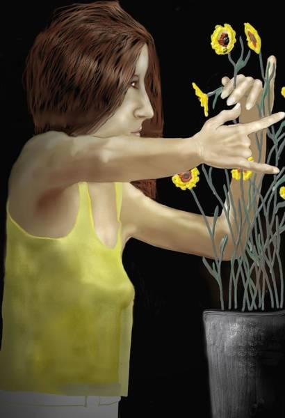 Flower Arranger Poster