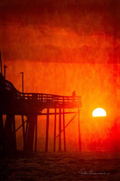 Foggy Avalon Sunrise 9129 Poster