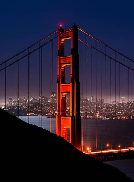 Foggy San Fransisco Poster