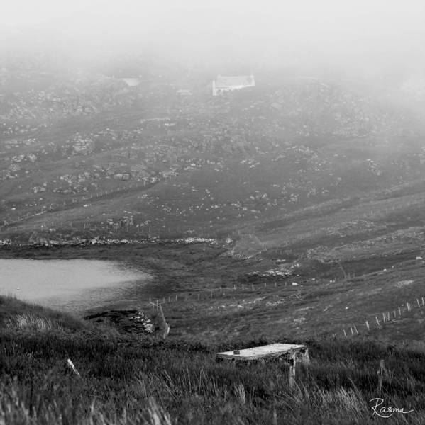 Foggy Scottish Morning Poster