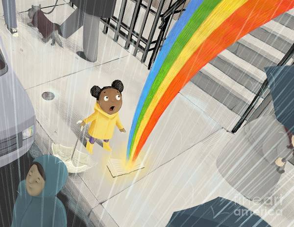 Follow Your Rainbow Poster
