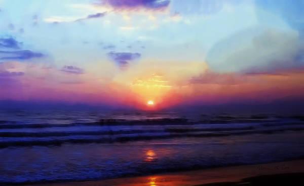 Folly Beach South Carolina Sunrise Poster