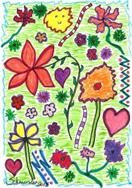 For The Love Of Flowers Poster