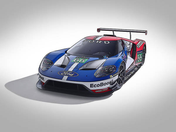 Ford Gt Poster
