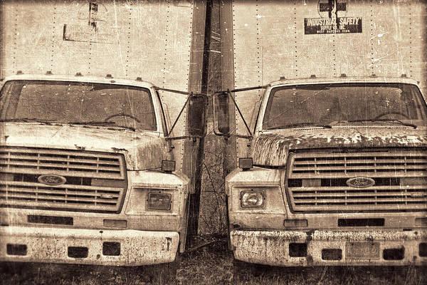 Forgotten Trucks Poster