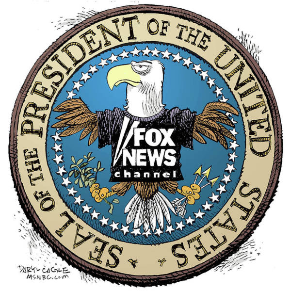 Fox News Presidential Seal Poster