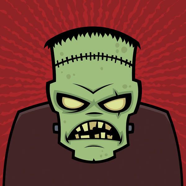 Frankenstein Monster Poster