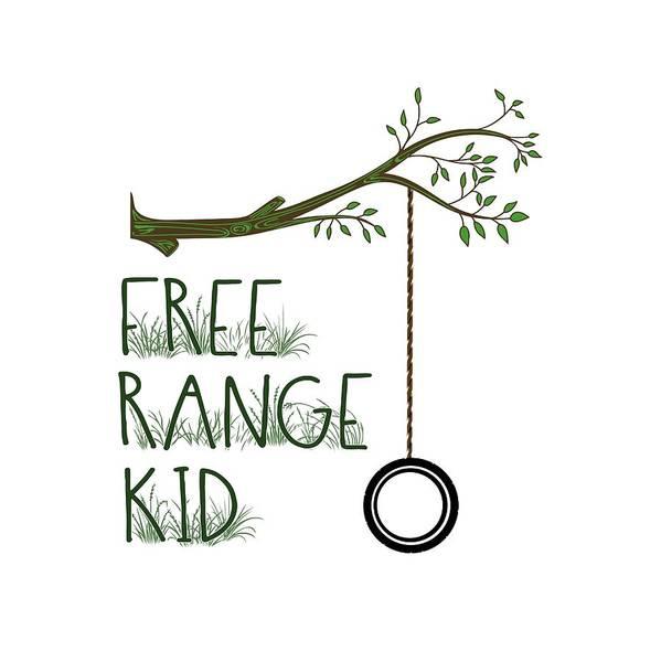Free Range Kid Poster