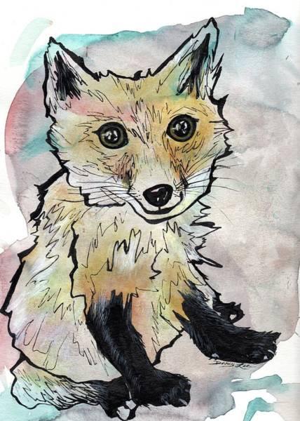 Friendly Fox Poster