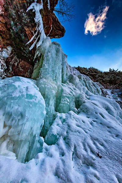 Frozen Kaaterskill Falls Poster