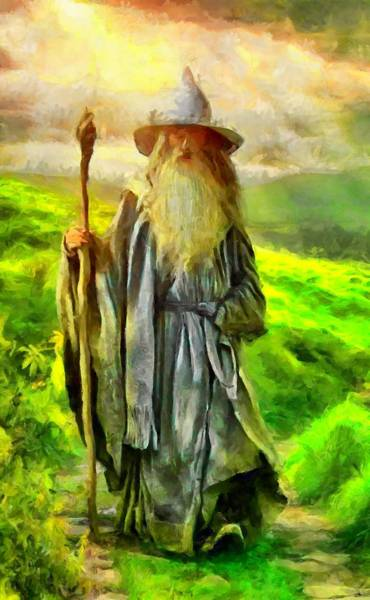 Gandalf, The  Grey Poster