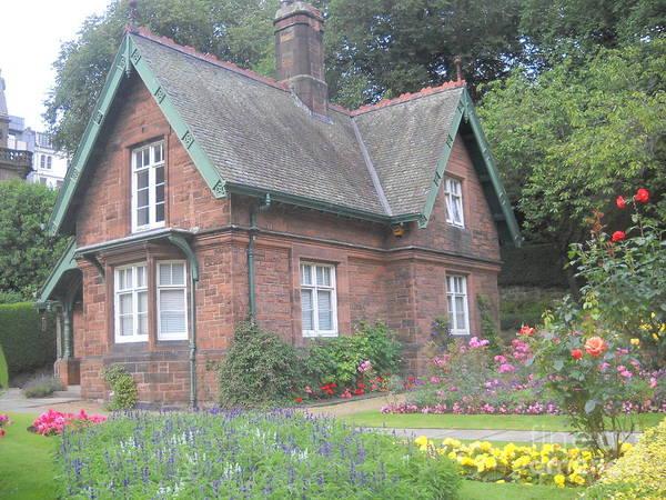 Garden At Scotland Poster