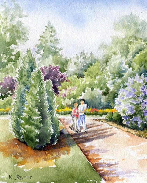 Garden Walk Poster