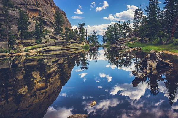 Gem Lake Reflections Poster