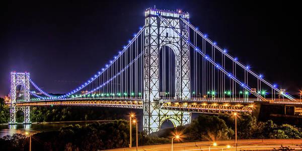 George Washington Bridge - Memorial Day 2013 Poster