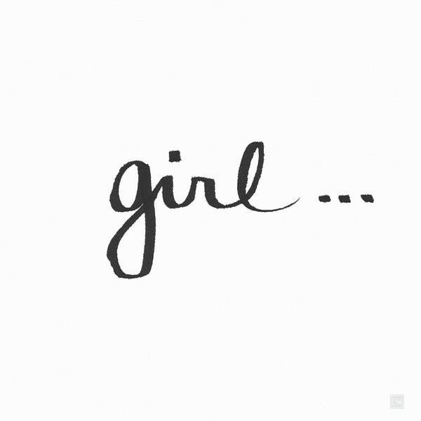 Girl Talk- Art By Linda Woods Poster