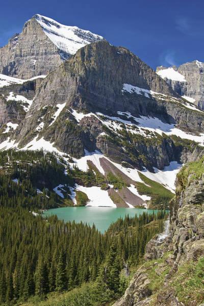 Glacier Backcountry Poster