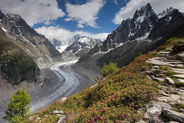 Glacier De La Mer De Glace Poster