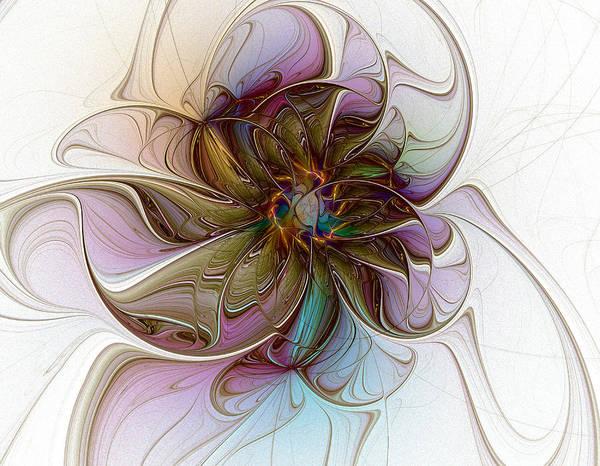 Glass Petals Poster