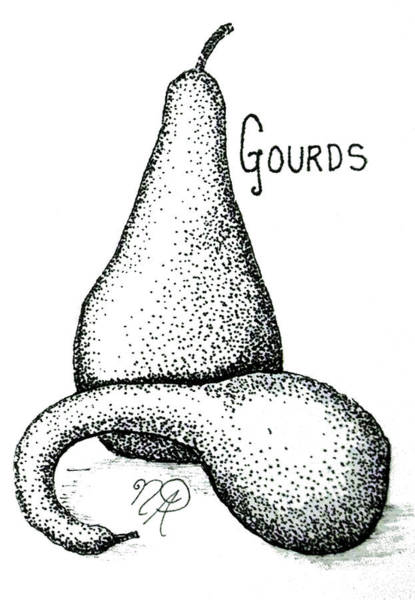 Glorious Gourds Poster