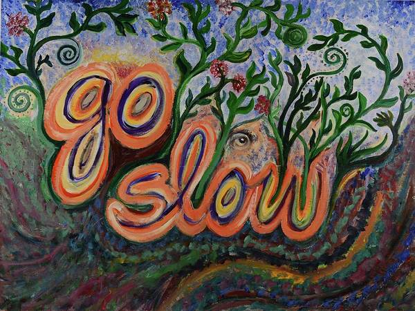 Go Slow Poster