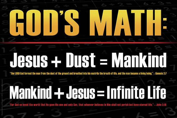 God's Math Poster