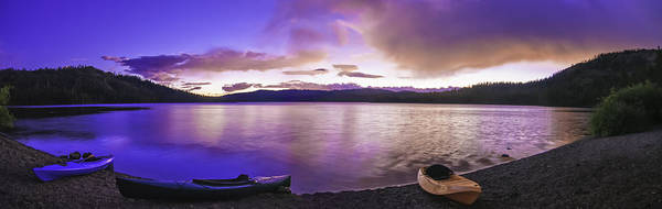 Gold Lake Pano Poster
