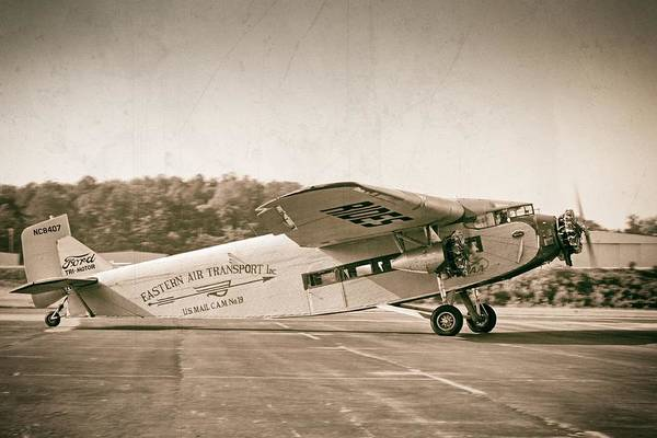 Golden Age Trimotor Poster
