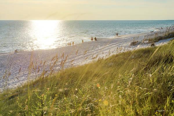 Golden Beach Afternoon Poster