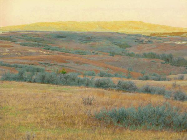 Golden Dakota Horizon Dream Poster