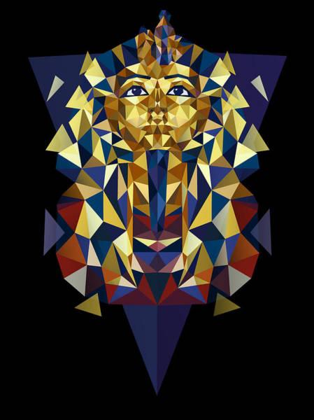 Golden Tutankhamun Poster