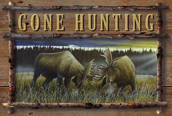 Gone Hunting - Locked At Lac Seul Poster