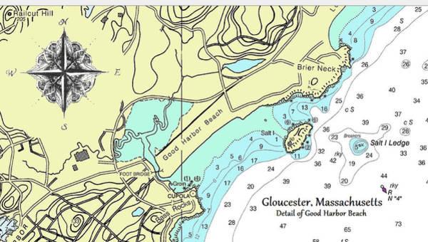 Good Harbor Beach Poster