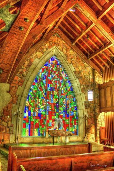 Grace Abounds Ida Cason Callaway Memorial Chapel Art Poster