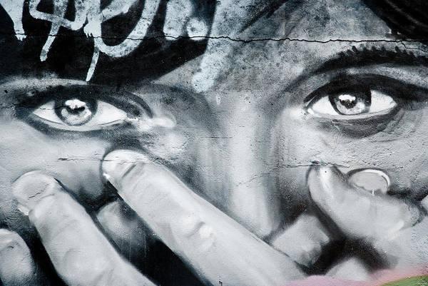 Graffiti Eyes Poster