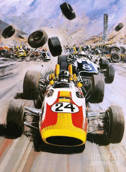 Graham Hill Poster