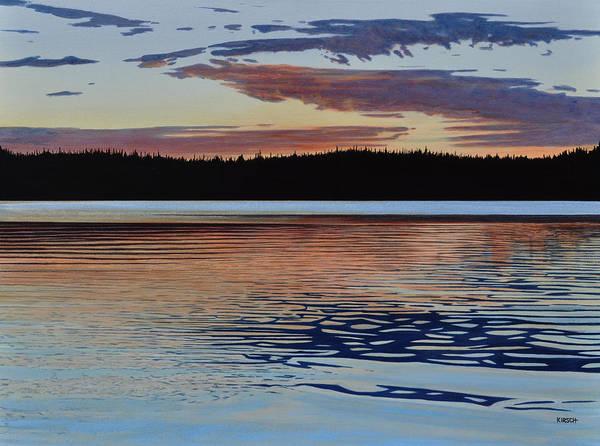 Graham Lake Poster