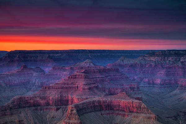 Grand Canyon Evening Colors Poster