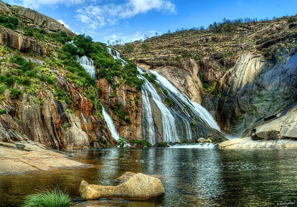 Granite Mountain Waterfall Poster