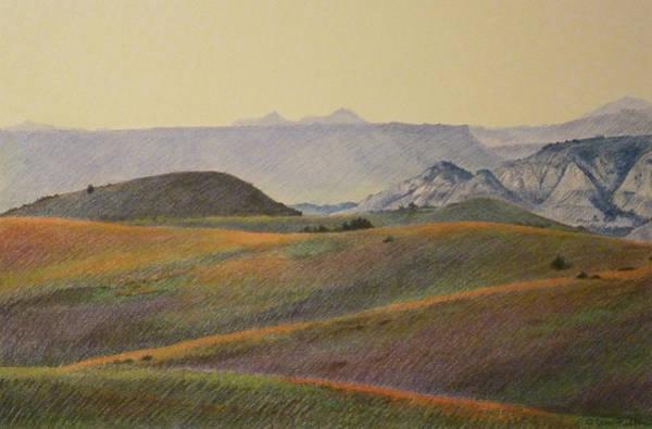 Grasslands Badlands Panel 2 Poster