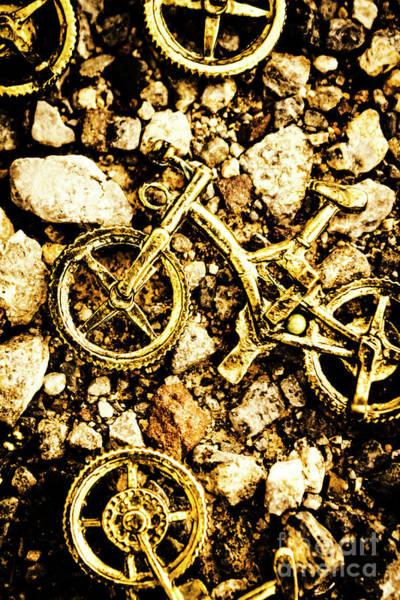 Gravel Bikes Poster
