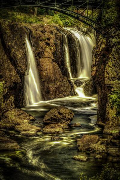 Great Falls Close Up Poster