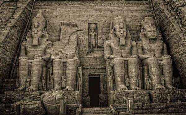 Great Temple Abu Simbel  Poster