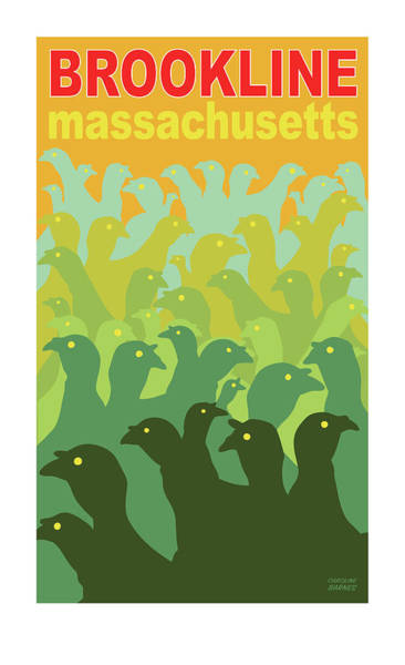 Green Fields Of Brookline Poster
