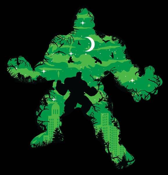 Green Monster Poster