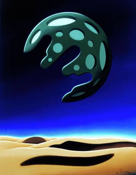 Green Moon Rising Poster