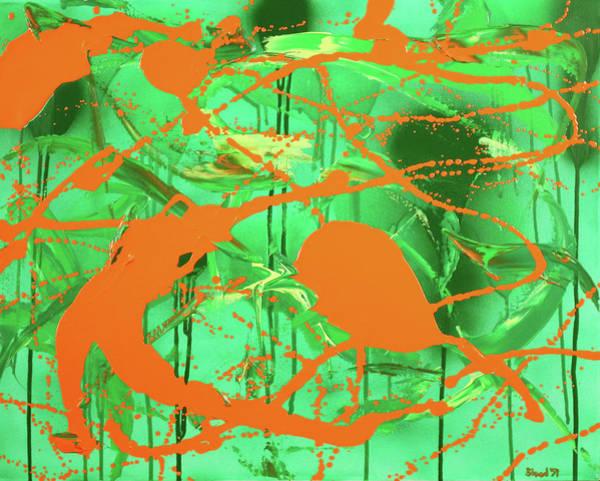 Green Spill Poster